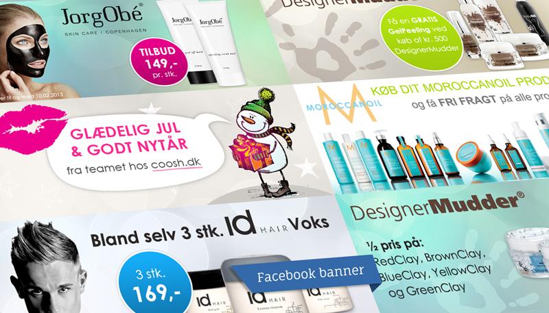 Facebook coverbillede design