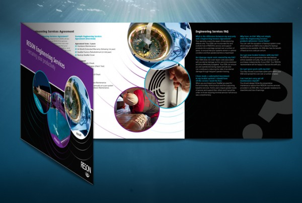 Reson 3 foldet brochure